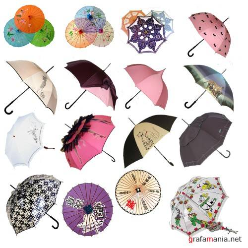 umbrellas in PSD