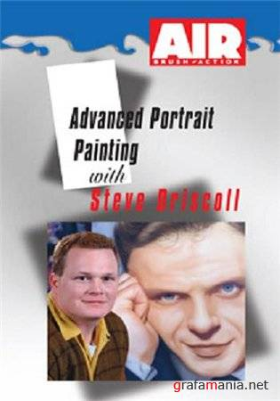 Advanced Portrait Painting: Steve Driscoll (Видео уроки, аэрография)