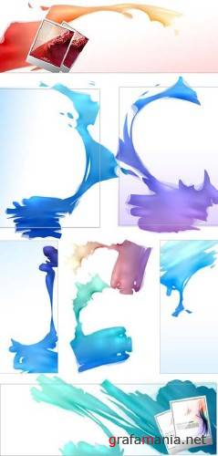 Paint Strokes - Vector Graphics