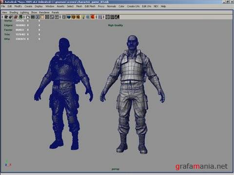 Character Modeling for Next-Gen Games (Видео урок)