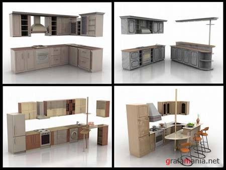 Kitchen 3D Models - 4