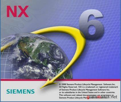 SIEMENS UGS NX6 (Unigraphics) - 64bit version (2008)