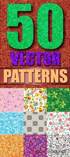 50 Vector Patterns