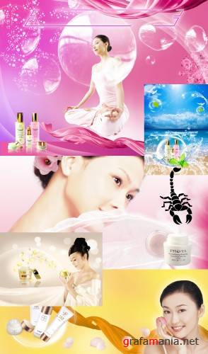 PSD templates - Cosmetics(2)