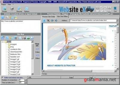InternetSoft Website Extractor 10.0 Retail
