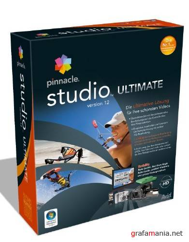 Pinnacle Studio Ultimate version 12 FOR 06.02.2009 VM