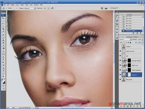 High End Industry Photoshop Retouching Techniques Series One (Уроки Photoshop по ретуши)