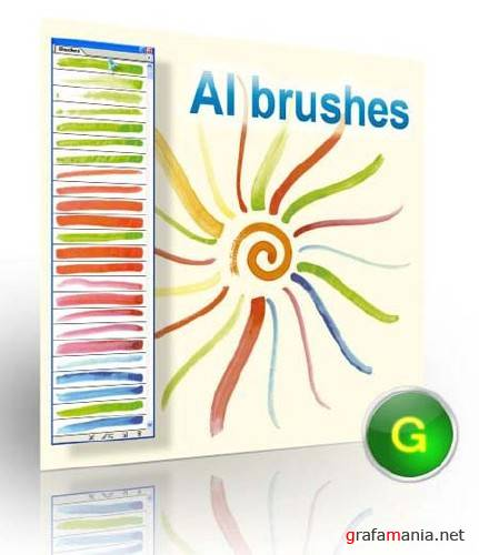 95 Watercolour Ai Brushes
