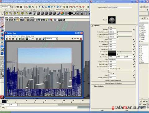 I3D Introduction to Rendering with mental ray in Autodesk Maya 2009 (Видео урок)