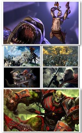 ���� �������� � ����� - Amazing HD Games Battles Wallpapers