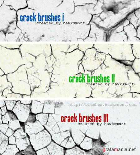 Crack Brush Set by hawksmont