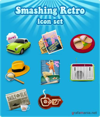 Smashing Retro icon