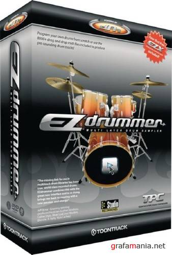 EZ DRUMMER COMPLETE COLLECTION 2DVD [ISO]