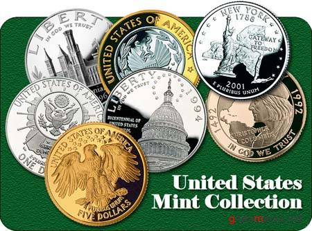 United States Mint Coins Collection