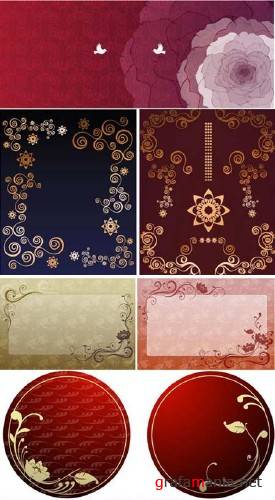 Ornament Vector Background #23062009