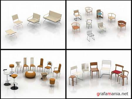 Chairs - 3D Max 2009 Models