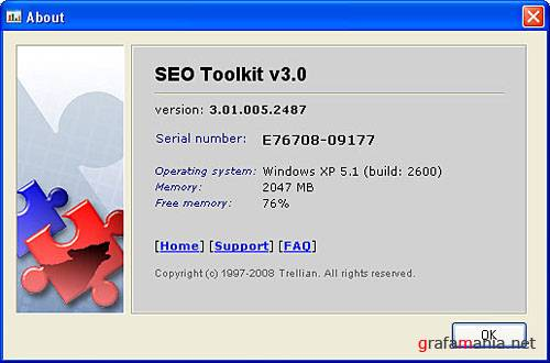 Trellian SEO Toolkit v3.01.005