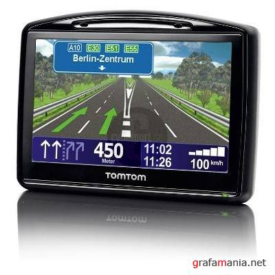 TomTom : Western and Central Europe 2GB 830 2307