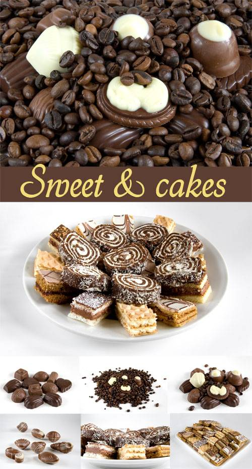 Sweet and cakes