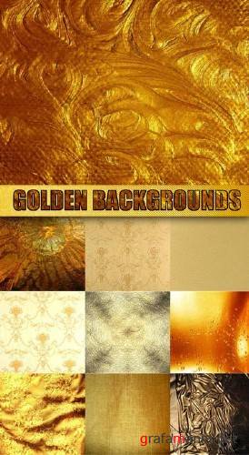 Golden Backgrounds - HQ Stock Images