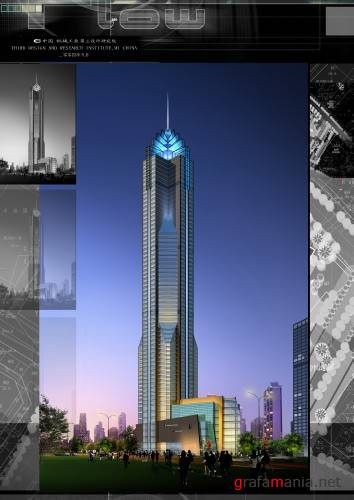 High building - Psd