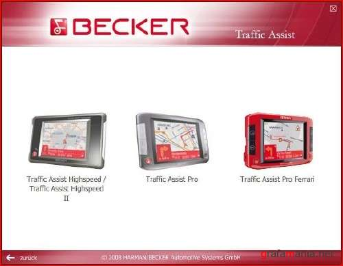 Europe Becker Traffic Assist HighSpeed DVD v 3.0
