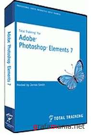 Total Training - Adobe Photoshop Elements 7 (Видеоуроки)