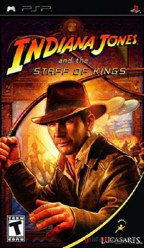 ������� �����/Indiana Jones And The Staff of Kings ENG ��� PSP