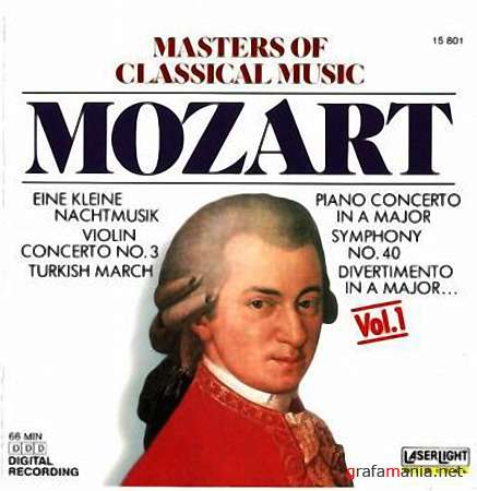 Masters Of Classical Music - Vol.1 -������ /  Mozart