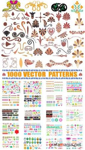 1000 Vector Patterns
