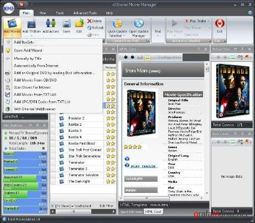 eXtreme Movie Manager 7.0.3.9 Deluxe Edition