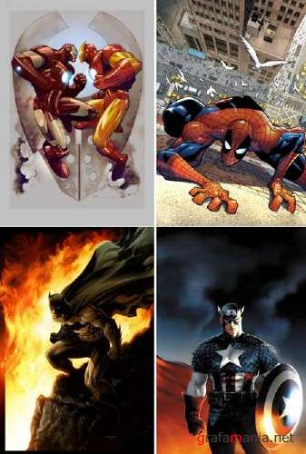 Best Superhero Illustrations