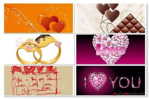 Love  Pack Vector