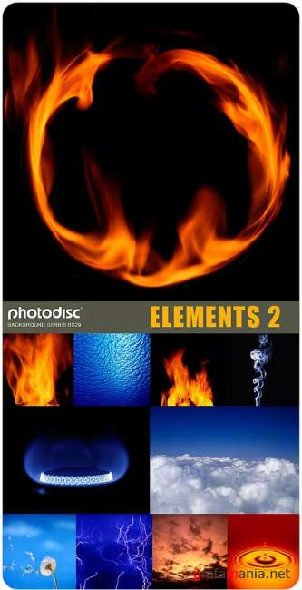 Photodisc Background Series BS29 - Elements 2