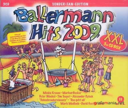 VA - Ballermann Hits 2009 XXL (3CD Box-Set)