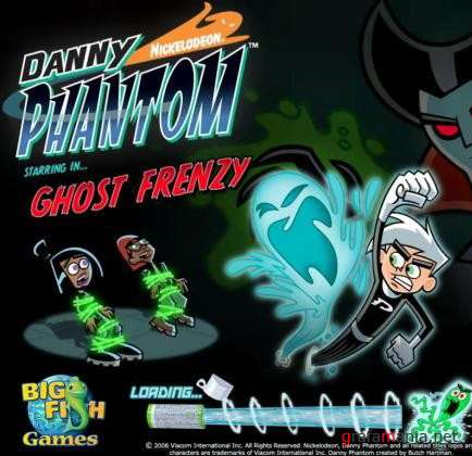 Danny Phantom: Ghost Frenzy (2009/Eng)