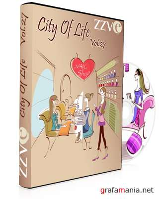 ZZVe - City Of Life - Vector collection
