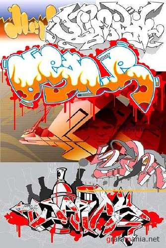 Graffiti Vector Designs