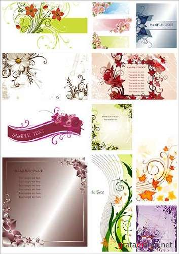 Floral SS Backgrounds Collection