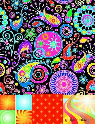 Abstract Backgrounds - Vector clipart