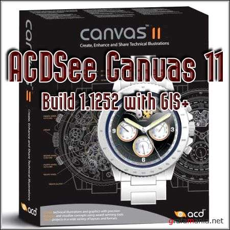 ACDSeeCanvas 11.0 Build 1.1252 with GIS+