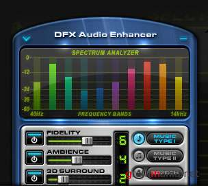 DFX Audio Enhancer v9.107