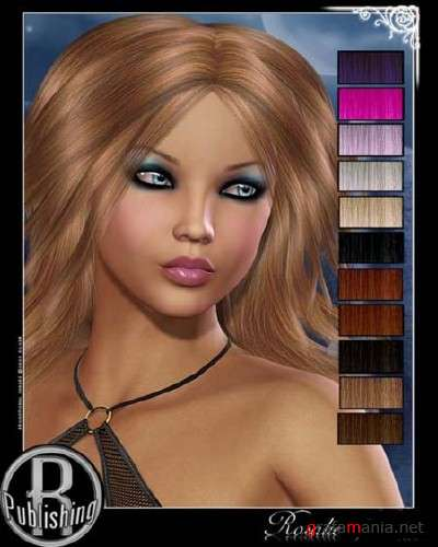 Rosalie Hair for Victoria 4 and Aiko 4