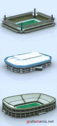 3d Models of Stadiums - Part 2