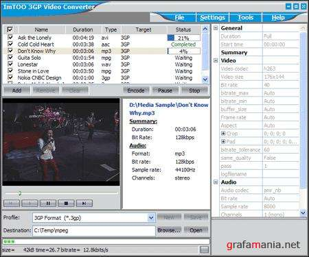 ImTOO 3GP Video Converter 3.1.21