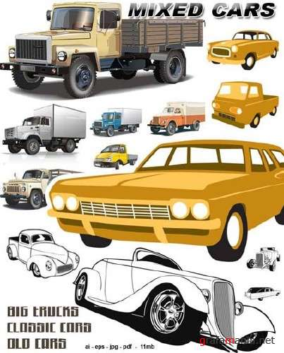 Cars - Vector Graphics