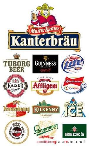 Beer Logotypes Vector Collection - vol. 2