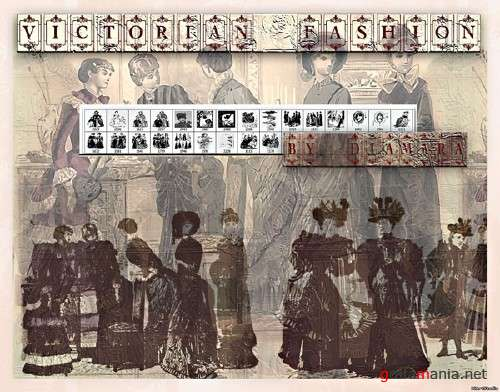 Victorian Fashion PS Brushes