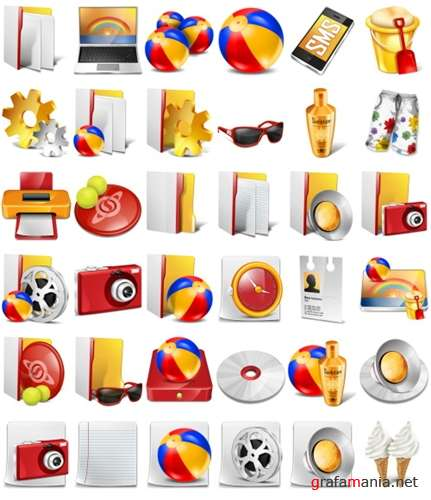 Sunny Day Icons