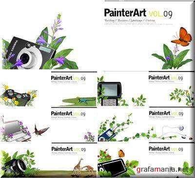 Painter Art 09 Electron